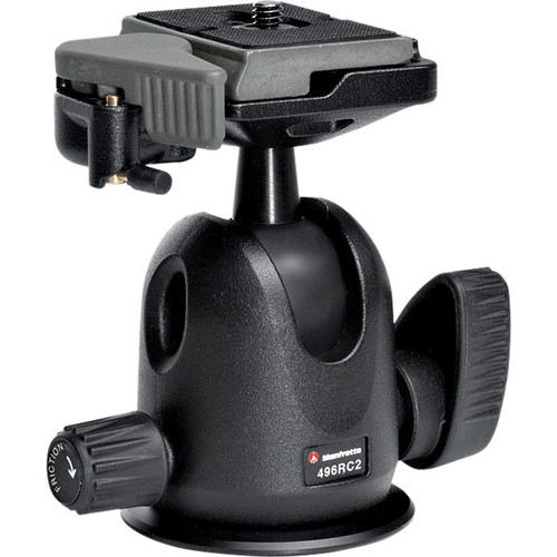 anfrotto 496RC2 Compact Ball Head with 200PL-14 Quick Release Plate